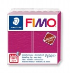 Modelina Fimo Leather Effect 57g, kolor 229 BERRY - AMARANTOWY