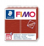 Modelina Fimo Leather Effect 57g, kolor 749 RUST - RDZAWY