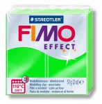 Modelina Fimo Neon Effect 57g, kolor 501 GREEN - ZIELONY