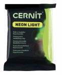 Modelina Cernit Neon Light 56g, kolor 600 GREEN - neonowy ZIELONY