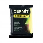 Modelina Cernit Neon Light 56g, kolor 700 YELLOW - neonowy ŻÓŁTY