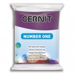 Modelina Cernit Number One 56g, kolor 962 PURPLE - PURPUROWY