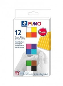 Zestaw modelin FIMO BASIC COLOURS 12 x 25 g