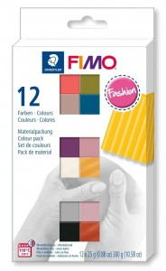 Zestaw modelin FIMO FASHION COLOURS 12 x 25g