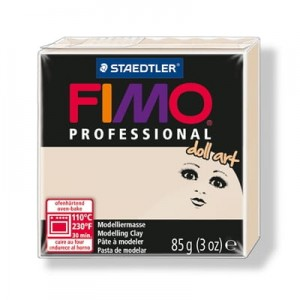 Modelina Fimo Professional Doll 85g, kolor 44 BEŻOWY